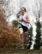 24 November 2019; Fionnuala McCormack of Kilcoole A.C., Co. Wicklow, on her way to winning the Senior Women's event during the Irish Life Health National Senior, Junior & Juvenile Even Age Cross Country Championships at the National Sports Campus Abbotstown in Dublin. Photo by Sam Barnes/Sportsfile