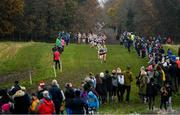 24 November 2019; A general view during the Irish Life Health National Senior, Junior & Juvenile Even Age Cross Country Championships at the National Sports Campus Abbotstown in Dublin. Photo by Sam Barnes/Sportsfile