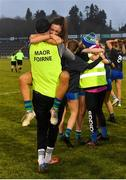 23 November 2019; Amy Gavin Mangan of Naomh Ciaran and team-mates celebrate following the All-Ireland Ladies Intermediate Club Championship Final match between Naomh Ciaran and Naomh Pól at Kingspan Breffni in Cavan. Photo by Harry Murphy/Sportsfile