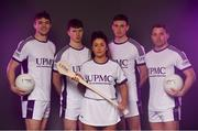 25 November 2019; In attendance the announcement of UPMC as Official Healthcare Partner to the GAA/GPA are, from left, Kildare footballer Kevin Feely, Tipperary Hurler Jake Morris, WIT Camogie Player Shauna Quirke, Waterford United hurler Austin Gleeson and Cork footballer Brian Hurley at Croke Park in Dublin. UPMC, which offers trusted, high-quality health services at UPMC Whitfield Hospital in Waterford and other facilities in Ireland, will work with the GAA/GPA to promote the health of Gaelic Players and the communities in which they play. Photo by Sam Barnes/Sportsfile