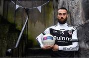 26 November 2019; Kilcoo and former Down footballer Conor Laverty is pictured ahead of the AIB Ulster Senior Football Club Championship Final where they face Naomh Conaill of Donegal on Sunday December 1st at Healy Park, Omagh. AIB is in its 29th year sponsoring the GAA Club Championship and is delighted to continue to support the Junior, Intermediate and Senior Championships across football, hurling and camogie. For exclusive content and behind the scenes action throughout the AIB GAA & Camogie Club Championships follow AIB GAA on Facebook, Twitter, Instagram and Snapchat. Photo by Sam Barnes/Sportsfile
