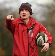26 November 2019; Munster forwards coach Graham Rowntree during Munster Rugby squad training at University of Limerick in Limerick. Photo by Matt Browne/Sportsfile