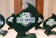 26 November 2019; SSE Airtricity League Club Awards at Knightsbrook Hotel in Trim, Co Meath. Photo by Stephen McCarthy/Sportsfile