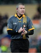 17 November 2019; Referee Padraig Hughes during the AIB Ulster GAA Football Senior Club Championship semi-final match between Kilcoo and Derrygonnelly at the Athletic Grounds in Armagh. Photo by Oliver McVeigh/Sportsfile