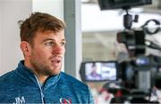 26 November 2019; Jordi Murphy during an Ulster Rugby press conference at Kingspan Stadium in Belfast. Photo by John Dickson/Sportsfile