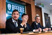 27 November 2019; Noel Mooney, General Manager of the Football Association of Ireland, in attendance during the Referee Strategy Launch at FAI HQ in Dublin. Photo by Matt Browne/Sportsfile
