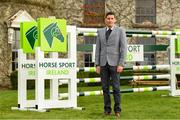 28 November 2019; Irish showjumper Paul O'Shea at the HSI Rebrand Launch and Medal Reception 2019 at Killashee House Hotel in Naas, Co Kildare. Photo by Matt Browne/Sportsfile