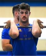 3 December 2019; Caelan Doris during a Leinster Rugby gym session at Leinster Rugby Headquarters in UCD, Dublin. Photo by Ramsey Cardy/Sportsfile