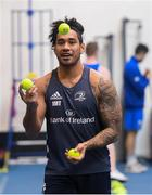 3 December 2019; Joe Tomane during a Leinster Rugby gym session at Leinster Rugby Headquarters in UCD, Dublin. Photo by Ramsey Cardy/Sportsfile