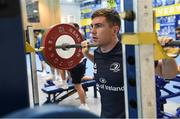 3 December 2019; Luke McGrath during a Leinster Rugby gym session at Leinster Rugby Headquarters in UCD, Dublin. Photo by Ramsey Cardy/Sportsfile