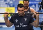 3 December 2019; Cian Kelleher during a Leinster Rugby gym session at Leinster Rugby Headquarters in UCD, Dublin. Photo by Ramsey Cardy/Sportsfile