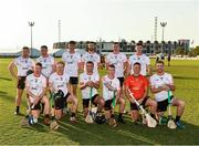 29 November 2019; The 2019 PwC All-Star team before the start of the PwC All Star Hurling Tour 2019 All Star game at Zayed Sport City in Abu Dhabi, United Arab Emirates. Photo by Ray McManus/Sportsfile