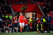 29 November 2019; Stephen Archer of Munster leads the team out to make his 200th appearance against Edinburgh during the Guinness PRO14 Round 7 match between Munster and Edinburgh at Irish Independent Park in Cork. Photo by Matt Browne/Sportsfile
