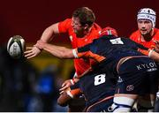 29 November 2019; Stephen Archer of Munster is tackled by Grant Gilchrist and Villiame Mata of Edinburgh during the Guinness PRO14 Round 7 match between Munster and Edinburgh at Irish Independent Park in Cork. Photo by Matt Browne/Sportsfile