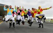 30 November 2019; Members of 'Cook's Stag-Do' prior to racing on Day One of the Fairyhouse Winter Festival at Fairyhouse Racecourse in Ratoath, Meath. Photo by Seb Daly/Sportsfile