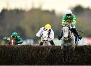 30 November 2019; Demi Plie, with Aine O'Connor up, jumps the last on their way to winning the Irish Stallion Farms EBF Mares Handicap Steeplechase on Day One of the Fairyhouse Winter Festival at Fairyhouse Racecourse in Ratoath, Meath. Photo by Seb Daly/Sportsfile