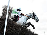 30 November 2019; Avenir D'Une Vie, with Jack Kennedy up, jumps the last on their way to winning the EasyFix Handicap Steeplechase on Day One of the Fairyhouse Winter Festival at Fairyhouse Racecourse in Ratoath, Meath. Photo by Seb Daly/Sportsfile