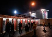 29 November 2019; A general view of outside the Kingspan Stadium ahead of the Guinness PRO14 Round 7 match between Ulster and Scarlets at the Kingspan Stadium in Belfast. Photo by Ramsey Cardy/Sportsfile