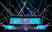 30 November 2019; A general view of the UEFA EURO 2020 Final Draw Ceremony in Bucharest, Romania. Photo by UEFA via Sportsfile