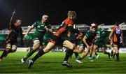 30 November 2019; Scott van Breda of Southern Kings on his way to scoring his side's second try during the Guinness PRO14 Round 7 match between Connacht and Isuzu Southern Kings at The Sportsground in Galway. Photo by Eóin Noonan/Sportsfile