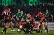 30 November 2019; Finlay Bealham of Connacht is tackled by Jerry Sexton of Southern Kings during the Guinness PRO14 Round 7 match between Connacht and Isuzu Southern Kings at The Sportsground in Galway. Photo by Eóin Noonan/Sportsfile