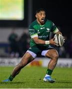 30 November 2019; Bundee Aki of Connacht  during the Guinness PRO14 Round 7 match between Connacht and Isuzu Southern Kings at The Sportsground in Galway. Photo by Eóin Noonan/Sportsfile