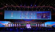 30 November 2019; A general view of the final draw during of the UEFA EURO 2020 Final Draw Ceremony in Bucharest, Romania. Photo by UEFA via Sportsfile
