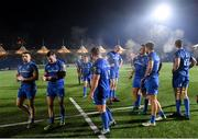 30 November 2019; The Leinster team following the Guinness PRO14 Round 7 match between Glasgow Warriors and Leinster at Scotstoun Stadium in Glasgow, Scotland. Photo by Ramsey Cardy/Sportsfile