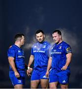 30 November 2019; The Leinster front row, from left, Bryan Byrne, Jack Aungier and Ed Byrne during the Guinness PRO14 Round 7 match between Glasgow Warriors and Leinster at Scotstoun Stadium in Glasgow, Scotland. Photo by Ramsey Cardy/Sportsfile