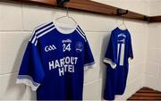 1 December 2019; A general view in the Naomh Conaill changing room before the AIB Ulster GAA Football Senior Club Championship Final match between Kilcoo and Naomh Conaill at Healy Park in Omagh, Tyrone. Photo by Oliver McVeigh/Sportsfile