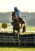 1 December 2019; Honeysuckle, with Rachael Blackmore up, jumps the last on their way to winning the BARONERACING.COM Hatton's Grace Hurdle on Day 2 of the Fairyhouse Winter Festival at Fairyhouse Racecourse in Meath. Photo by Harry Murphy/Sportsfile