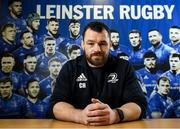 2 December 2019; Cian Healy poses for a portrait ahead of a Leinster Rugby press conference at Leinster Rugby Headquarters in UCD, Dublin. Photo by Ramsey Cardy/Sportsfile