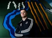 6 December 2019; James Ryan poses for a portrait ahead of a Leinster Rugby press conference at Leinster Rugby Headquarters in UCD, Dublin. Photo by Ramsey Cardy/Sportsfile