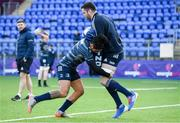 2 December 2019; Joe Tomane, left, and James Ryan during Leinster Rugby squad training at Energia Park in Donnybrook, Dublin. Photo by Ramsey Cardy/Sportsfile