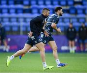 2 December 2019; Rob Kearney, left, and Robbie Henshaw during Leinster Rugby squad training at Energia Park in Donnybrook, Dublin. Photo by Ramsey Cardy/Sportsfile