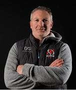 2 December 2019; Skills Coach Dan Soper poses for a portrait following an Ulster Rugby press conference at Kingspan Stadium in Belfast. Photo by Oliver McVeigh/Sportsfile