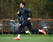 3 December 2019; Conor Murray during a Munster Rugby squad training at University of Limerick in Limerick. Photo by Matt Browne/Sportsfile