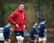 3 December 2019; Peter O'Mahony during a Munster Rugby squad training at University of Limerick in Limerick. Photo by Matt Browne/Sportsfile