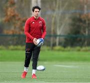 3 December 2019; Joey Carbery during a Munster Rugby squad training at University of Limerick in Limerick. Photo by Matt Browne/Sportsfile