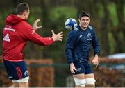3 December 2019; Billy Holland, right, and Tommy O'Donnell during a Munster Rugby Training at University of Limerick in Limerick. Photo by Matt Browne/Sportsfile