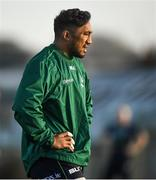 4 December 2019; Bundee Aki during a Connacht Rugby squad training at the Sportsground in Galway. Photo by David Fitzgerald/Sportsfile