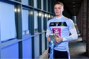 4 December 2019; Ray Connellan of UCD poses for a portrait with the Sigerson Cup during the Electric Ireland Higher Education GAA Championships Launch and Draw at DCU, Dublin. Photo by Sam Barnes/Sportsfile