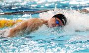 5 December 2019; Robert Powell of Ireland competes in the heats of the Men's 200m Freestyle during Day Two of the European Short Course Swimming Championships 2019 at Tollcross International Swimming Centre in Glasgow, Scotland. Photo by Joseph Kleindl/Sportsfile