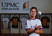 5 December 2019; Kilkenny camogie player Katie Power poses for a portrait at the official announcement of UPMC's ten-year naming right partnership with Kilkenny GAA that sees the home of Kilkenny GAA renamed UPMC Nowlan Park. This announcement complements UPMC's association with the GAA / GPA as official healthcare partner to Gaelic players, the established National Concussion Symposium and the UPMC Concussion Network, the first nationwide network established for concussion diagnosis and care. UPMC is the main sponsor of the Waterford IT Vikings GAA Club and headline sponsor of the 2020 UPMC Ashbourne Cup Weekend. Photo by Sam Barnes/Sportsfile
