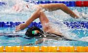 5 December 2019; Danielle Hill of Ireland competes in the heats of the Women's 100m Freestyle during Day Two of the European Short Course Swimming Championships 2019 at Tollcross International Swimming Centre in Glasgow, Scotland. Photo by Joseph Kleindl/Sportsfile