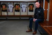 5 December 2019; Kilkenny Senior hurling manager Brian Cody at the official announcement of UPMC's ten-year naming right partnership with Kilkenny GAA that sees the home of Kilkenny GAA renamed UPMC Nowlan Park. This announcement complements UPMC's association with the GAA / GPA as official healthcare partner to Gaelic players, the established National Concussion Symposium and the UPMC Concussion Network, the first nationwide network established for concussion diagnosis and care. UPMC is the main sponsor of the Waterford IT Vikings GAA Club and headline sponsor of the 2020 UPMC Ashbourne Cup Weekend. Photo by Sam Barnes/Sportsfile