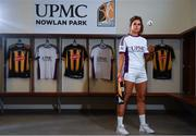5 December 2019; Kilkenny camogie player Katie Power poses for a portrait at the official announcement of UPMC's ten-year naming right partnership with Kilkenny GAA that sees the home of Kilkenny GAA renamed UPMC Nowlan Park. This announcement complements UPMC's association with the GAA / GPA as official healthcare partner to Gaelic players, the established National Concussion Symposium and the UPMC Concussion Network, the first nationwide network established for concussion diagnosis and care. UPMC is the main sponsor of the Waterford United IT Vikings GAA Club and headline sponsor of the 2020 UPMC Ashbourne Cup Weekend. Photo by Sam Barnes/Sportsfile
