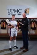 5 December 2019; Kilkenny hurler Eoin Murphy, left, and Kilkenny Senior hurling manager Brian Cody at the official announcement of UPMC's ten-year naming right partnership with Kilkenny GAA that sees the home of Kilkenny GAA renamed UPMC Nowlan Park. This announcement complements UPMC's association with the GAA / GPA as official healthcare partner to Gaelic players, the established National Concussion Symposium and the UPMC Concussion Network, the first nationwide network established for concussion diagnosis and care. UPMC is the main sponsor of the Waterford IT Vikings GAA Club and headline sponsor of the 2020 UPMC Ashbourne Cup Weekend. Photo by Sam Barnes/Sportsfile