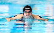 6 December 2019; Mona McSharry of Ireland competes in the heats of the Women's 100m Breaststroke during day three of the European Short Course Swimming Championships 2019 at Tollcross International Swimming Centre in Glasgow, Scotland. Photo by Joseph Kleindl/Sportsfile