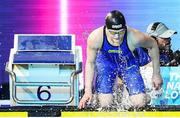 6 December 2019; Mona McSharry of Ireland competing in the semi final of the Women's 100m Breaststroke during day three of the European Short Course Swimming Championships 2019 at Tollcross International Swimming Centre in Glasgow, Scotland. Photo by Joseph Kleindl/Sportsfile